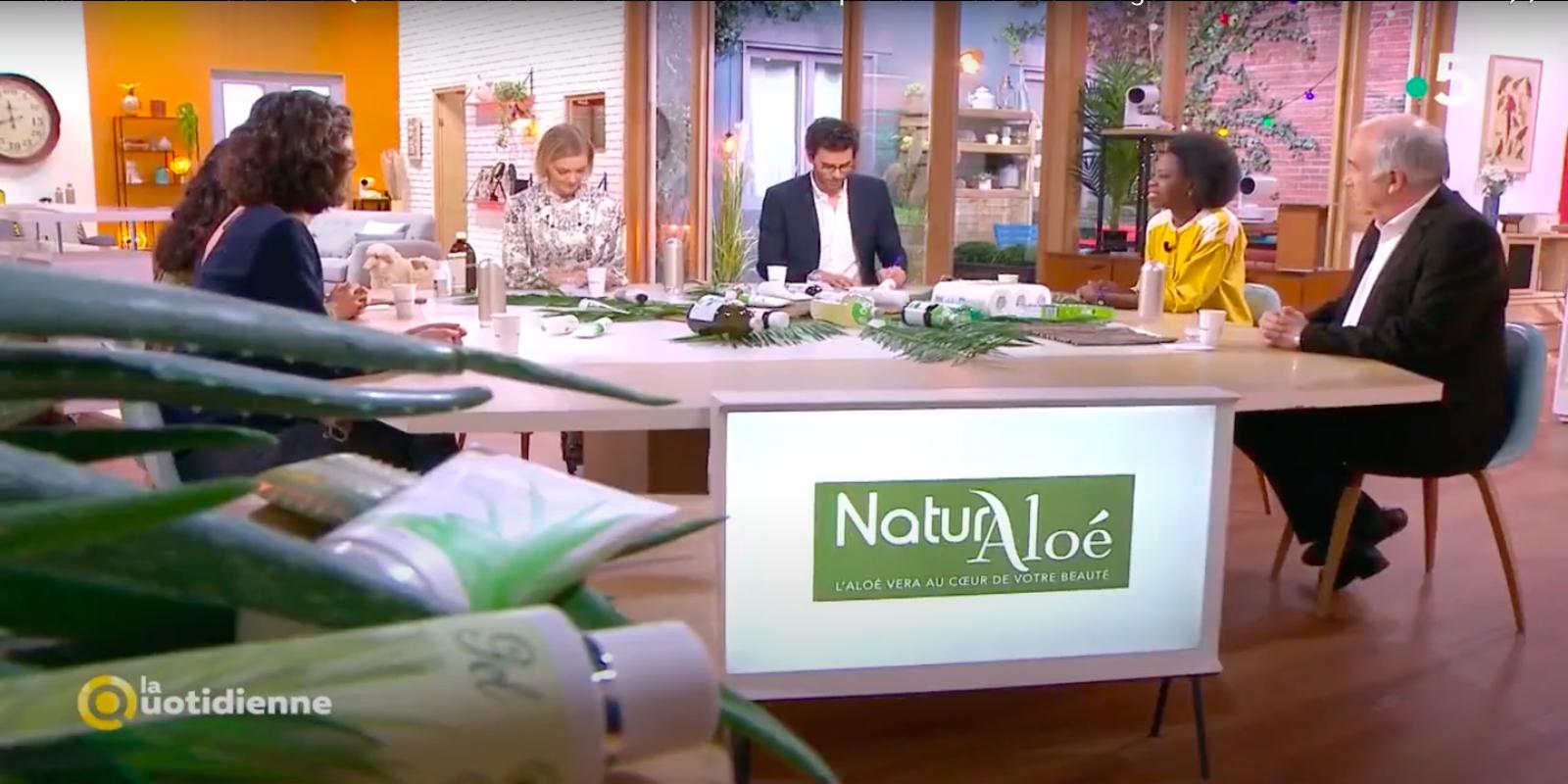 NaturAloé à l'honneur dans l'émission