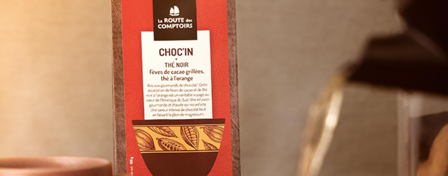 La Route des Comptoirs met à l'honneur son thé noir CHOC'IN !